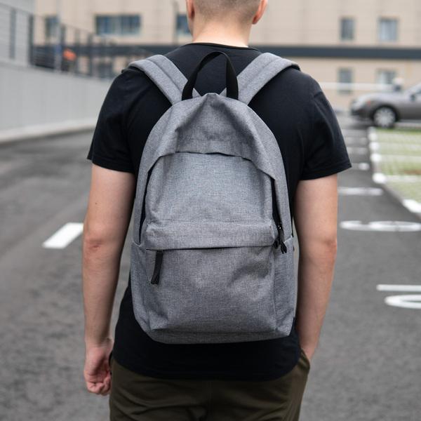 Серый рюкзак StuffBox
