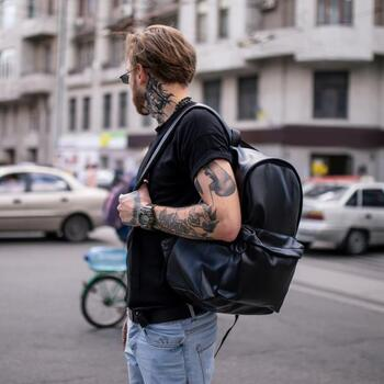 Рюкзак TRIGGER чорний
